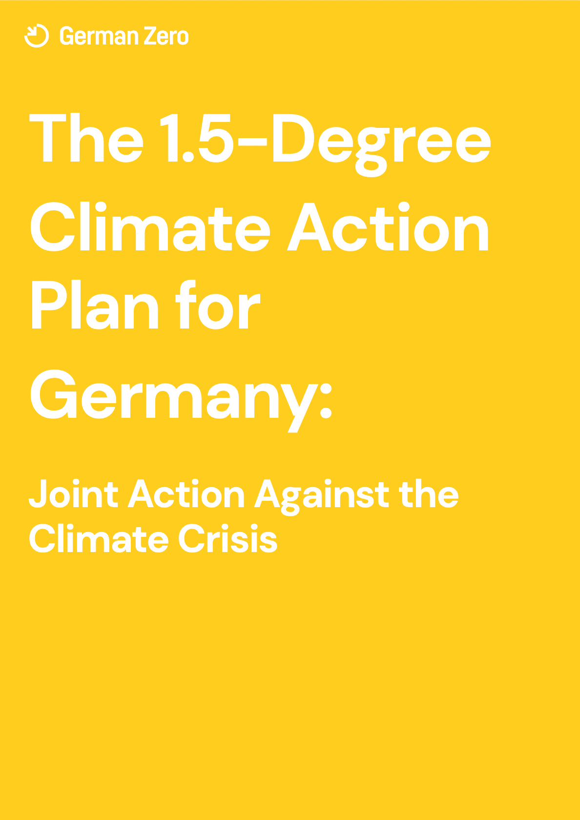 GermanZero: Crafting a climate action masterplan